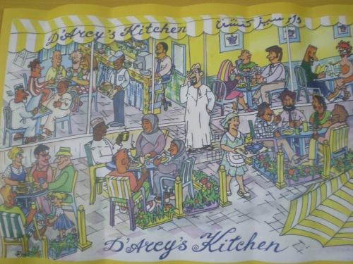 Darcys Kitchen placement