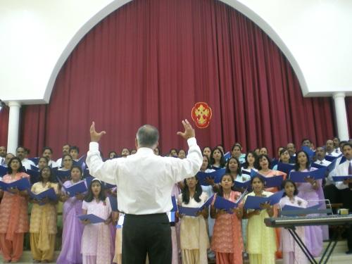 Ebenezer conducting