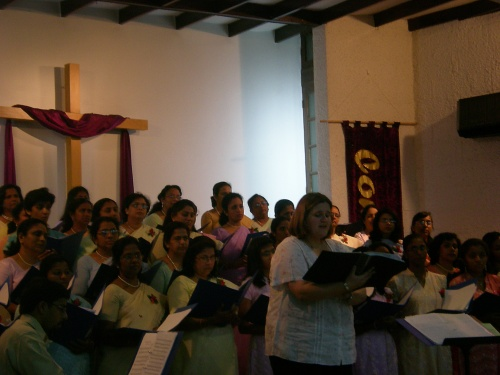 Carina Doing Solo in Ruwi Church
