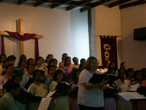 Carina Doing Solo in Ruwi Church