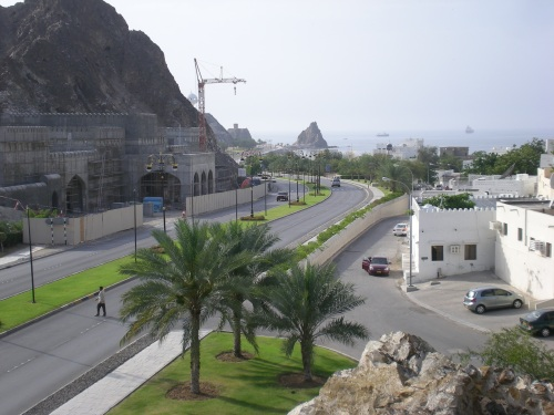 view from the muscat gate