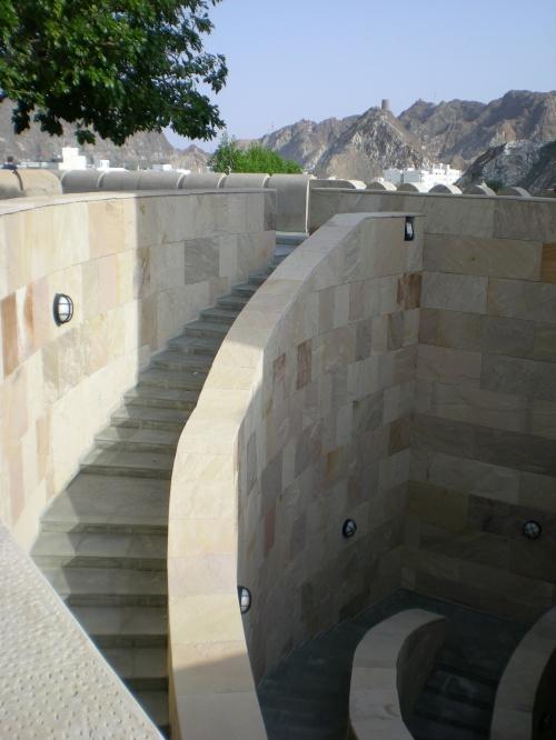 gate stairway