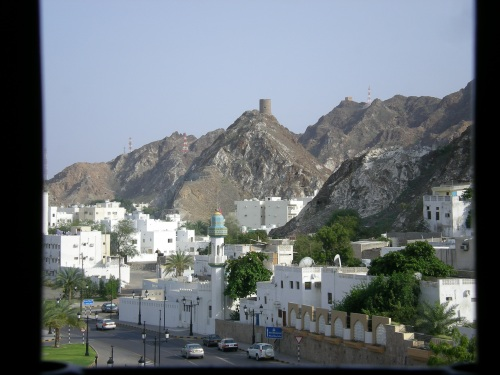 view from muscat gate 2