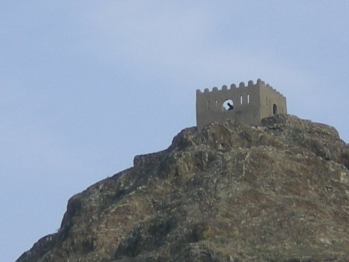 close up of fort