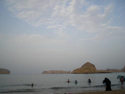 Quantab beach scene