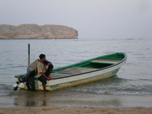 boy boat guide