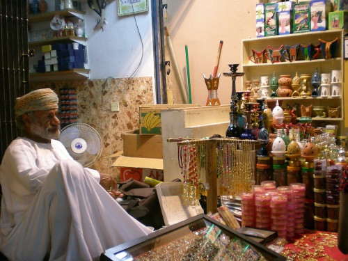 muttrah souq merchant