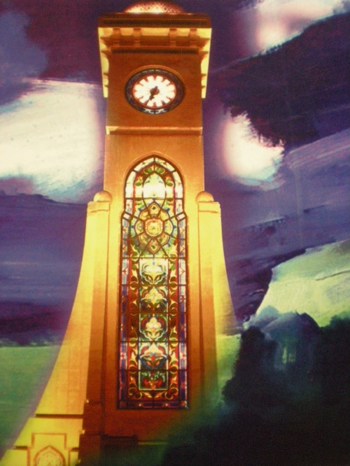 SQU clocktower