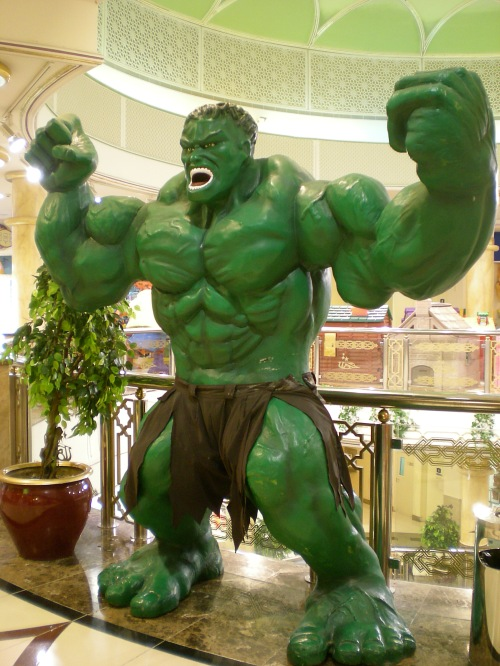 The Hulk at Markaz Baja