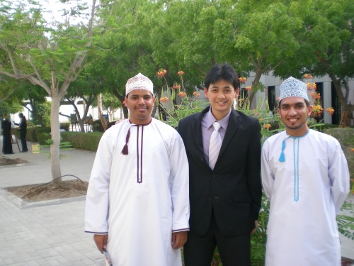 Sulaiman Osama and friend