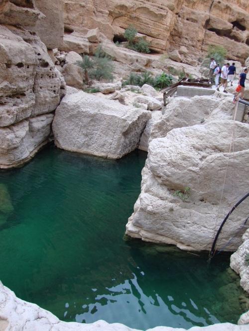 wadi pools