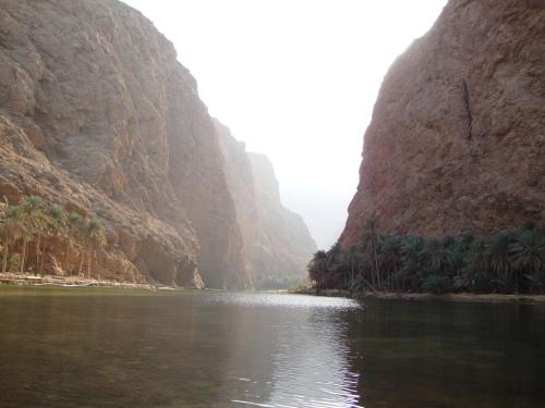 wadi shab beginning