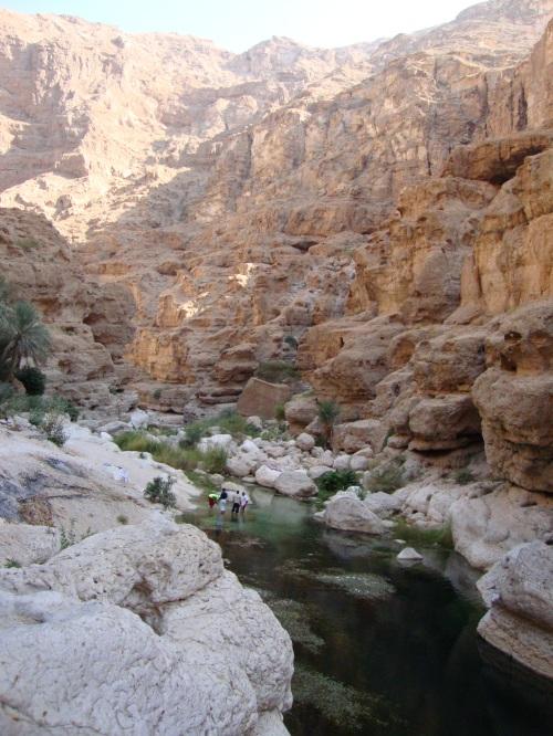 wadi and water