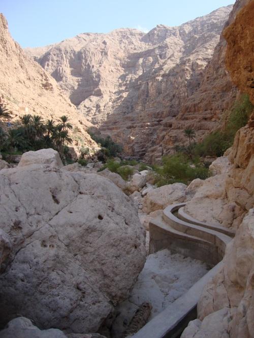 falaj in wadi