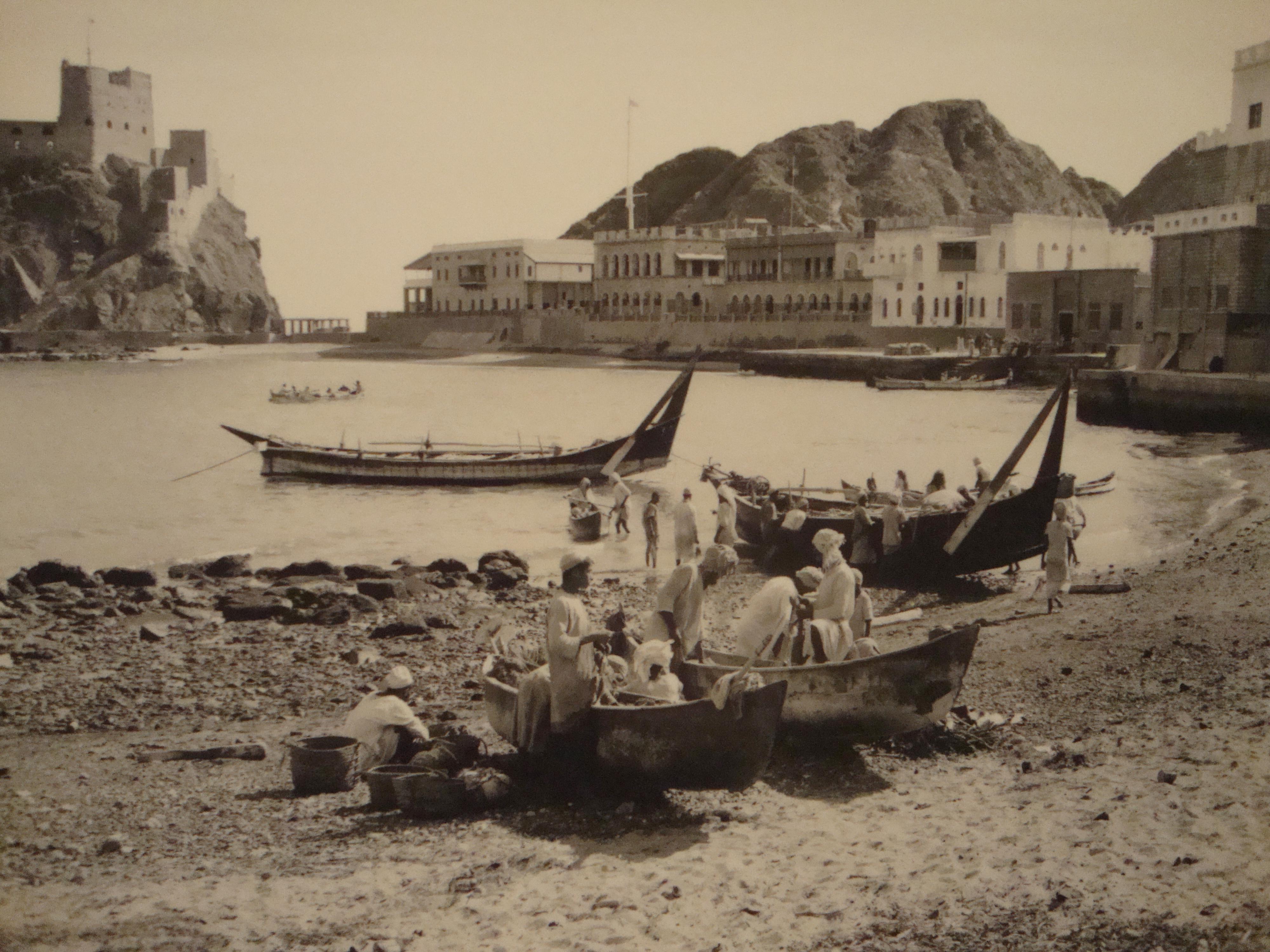 Ruins of an old omani village in Birkat Al Mouz. Nizwa, Sultanate ...