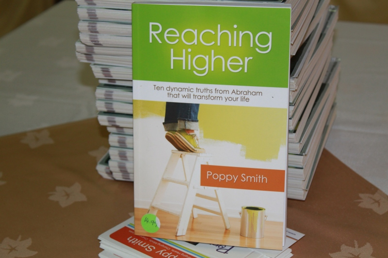 Poppy's book Reaching Higher
