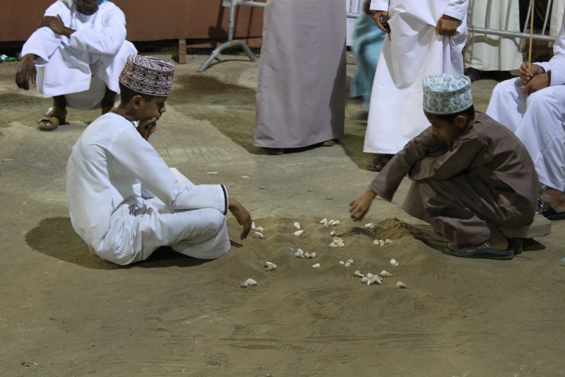playing traditional game
