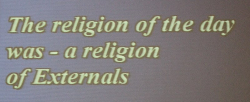 religion of externals