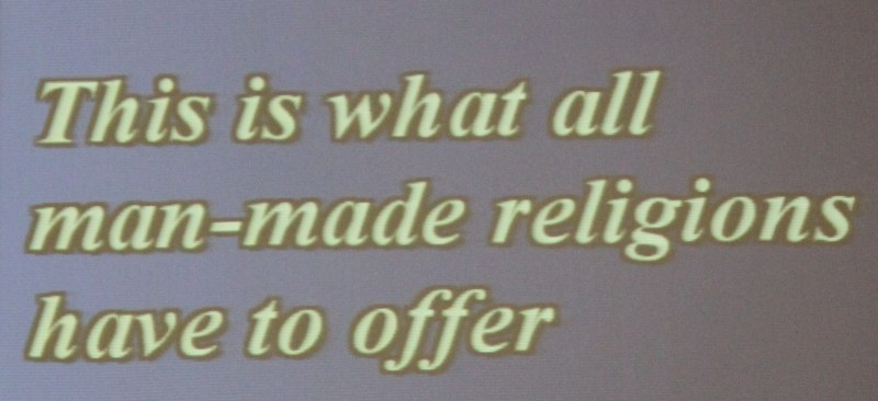 man-made religions