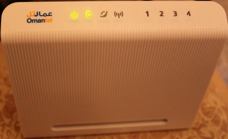 Omantel Home Gateway Huawei HG530