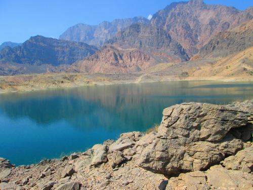 beautiful scene of lake