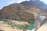 Visited Wadi Dayqah Dam - the largest dam in Oman! Built this year.