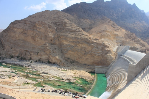 top of dam 15
