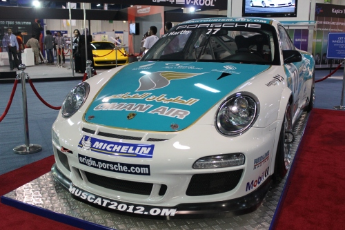 oman air on porsche
