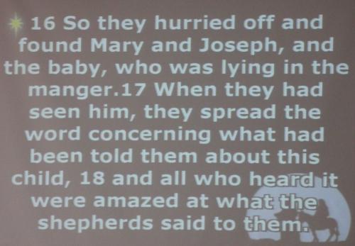 verses 16 to 18