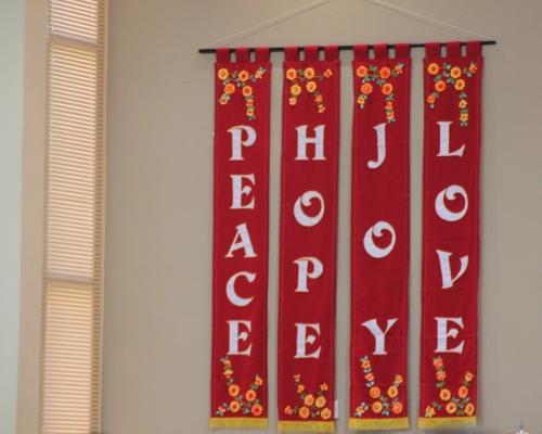 peace hope love and joy