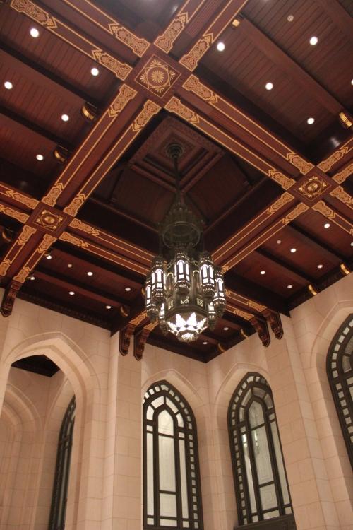 lantern on ceiling