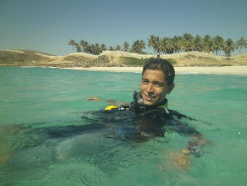 Benji back at beach