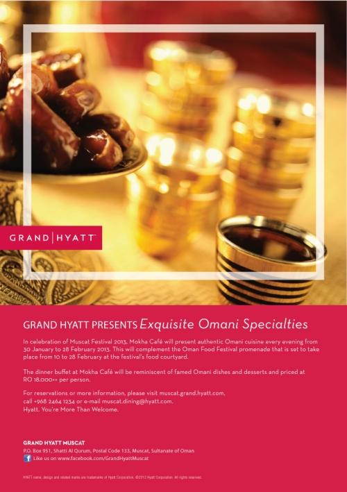 Omani Specialties  buffet