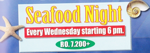 Seafood Night buffet