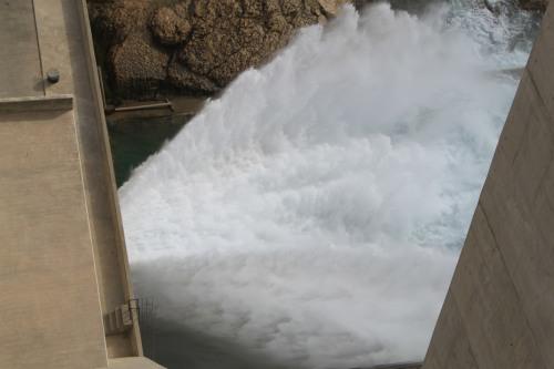 pressure of wadi dayqah dam