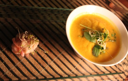 lobster carrot soup