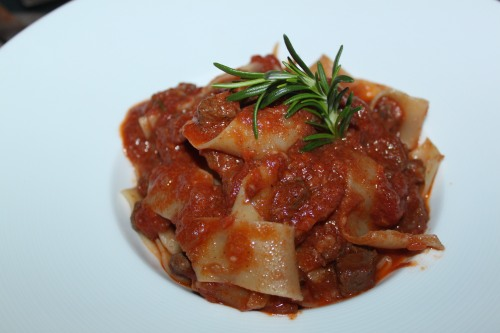Pappardelle Duck