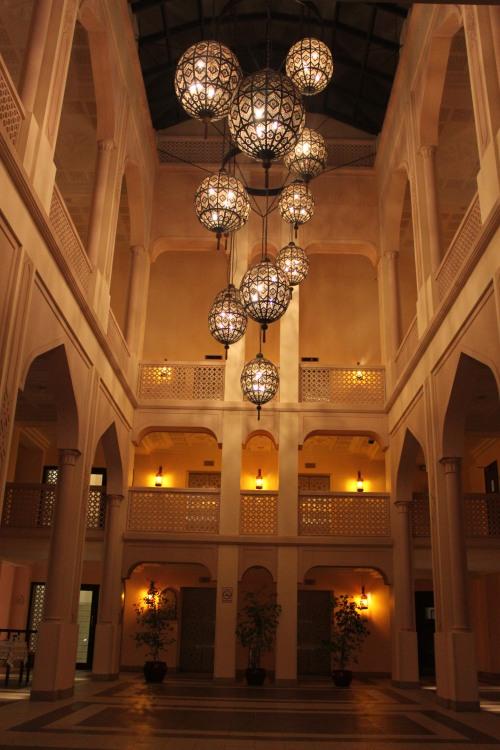impressive scene in bandar hotel