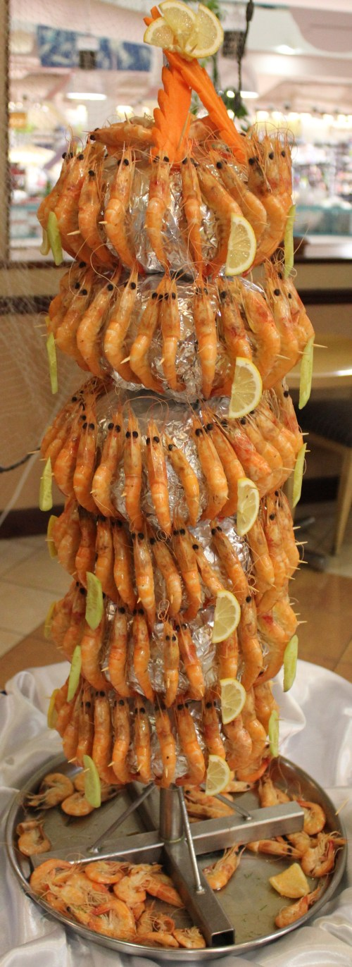 shrimp tower