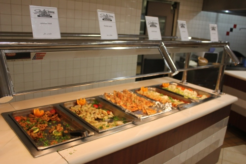 some of the buffet food