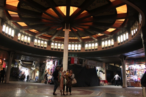 centre of Muttrah Souq