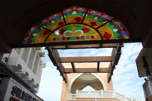 muttrah souq entrance
