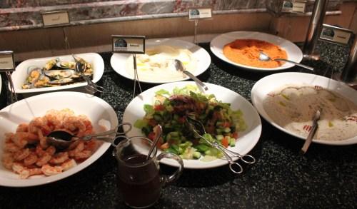 a few arabic dishes