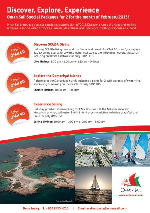 oman sail feb specail