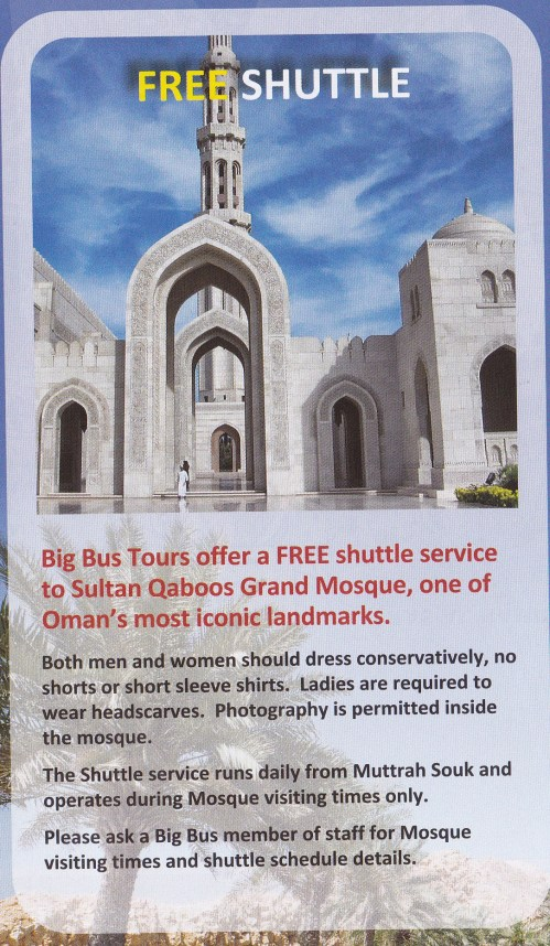 shuttle bus to Grand Mosque