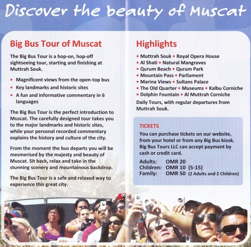 info on big bus tours