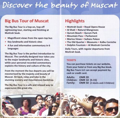info on big bus tours