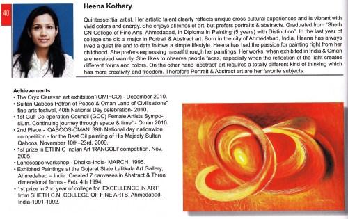 info on Heena