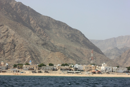 sifah village from thesea