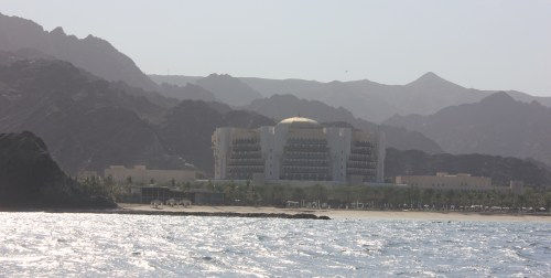 al bustan from sea
